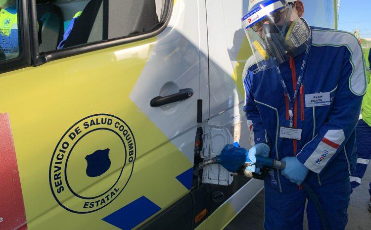 Ambulancias SAMU cargarán combustible gratis durante la pandemia