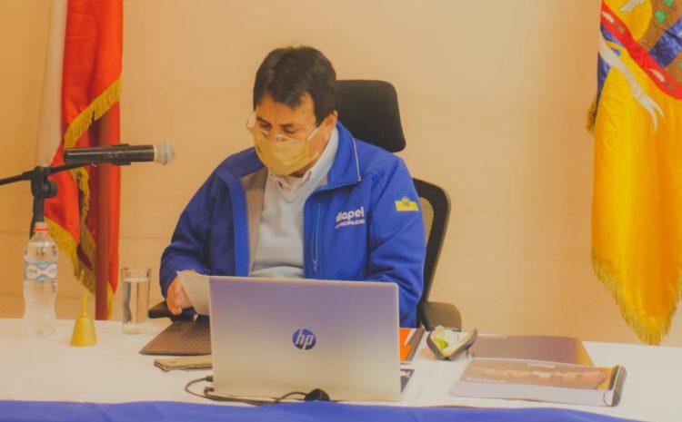 Alcalde de Illapel Denis Cortes Vargas entregó la cuenta publica del periodo 2019