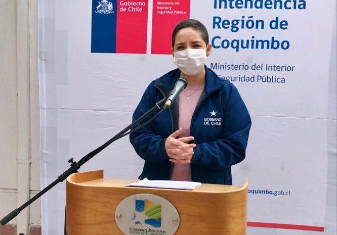 Intendenta Lucía Pinto «Hemos pasado a la fase 4 de contagios por Covid-19»