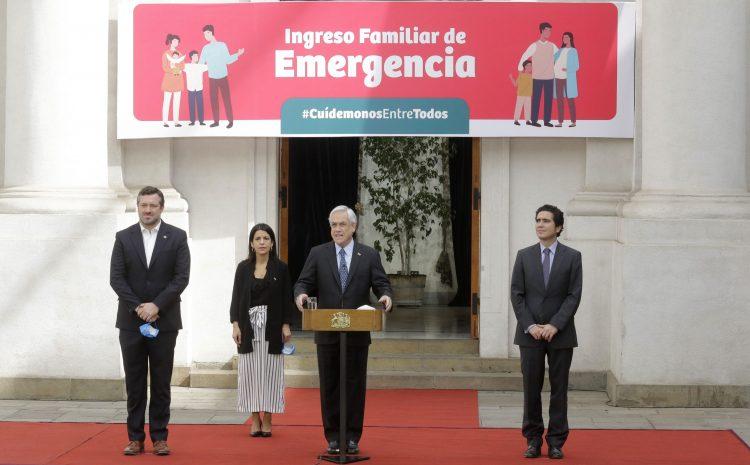 Gobierno envía proyecto de ingreso familiar