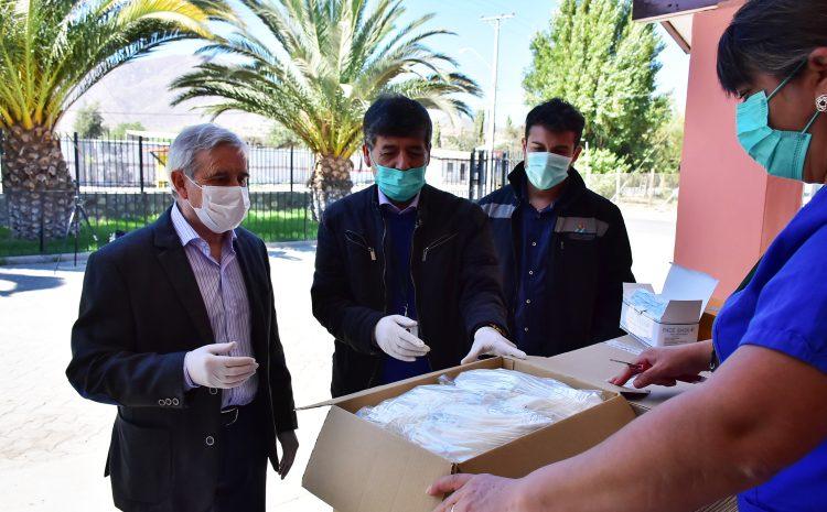 MLP dona insumos de protección en Salamanca