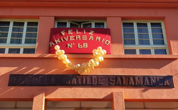 Escuela Básica Matilde Salamanca celebró sus 68 años de historia en medio de la pandemia