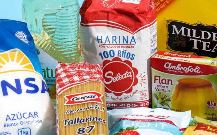 Entrega de cajas de alimentos se realizará de manera progresiva con foco en los adultos mayores