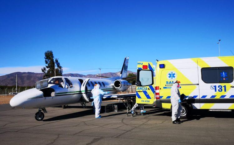 Hospital de Contingencia de Ovalle recibe a primer paciente trasladado desde Santiago