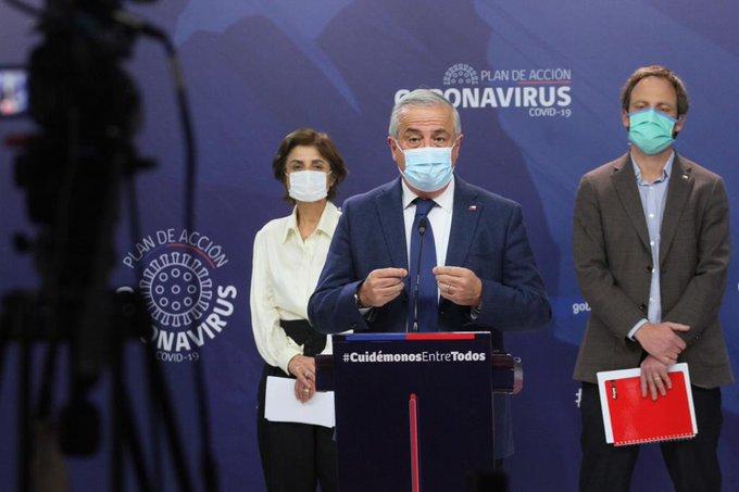 Chile alcanza 3.964 y 45 nuevos fallecidos producto del Covid-19 en las ultimas 24 horas.