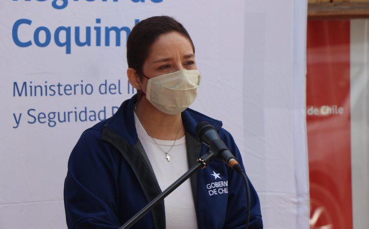 Intendenta Lucía Pinto retoma sus funciones tras recuperarse del coronavirus