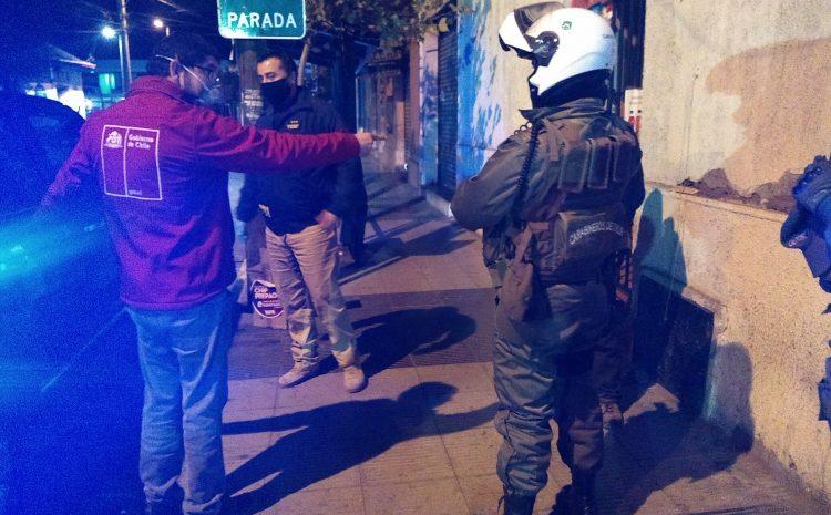 Nueva Inspección en Salamanca deja doce detenidos por infringir toque de queda
