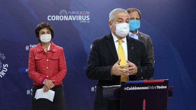 Chile registra 1.658 casos nuevos y 12 fallecidos en las ultimas 24 horas
