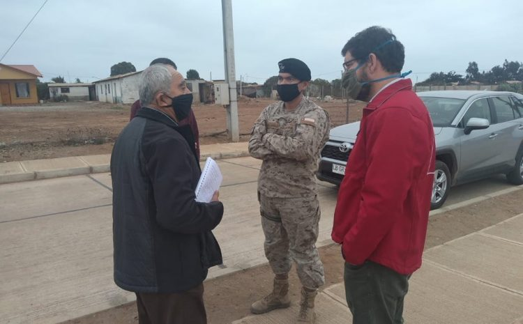 Autoridades se reúnen con localidades de la comuna de Canela por contingencia sanitaria