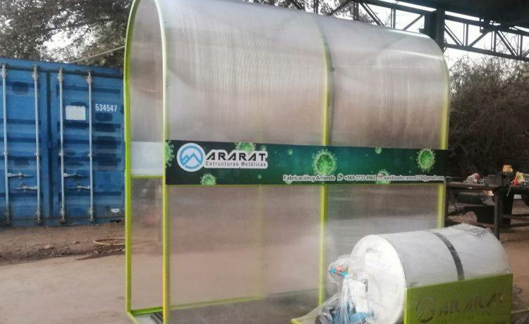 Salamanquino Fernando Cepeda crea Tunel Sanitizador Inteligente