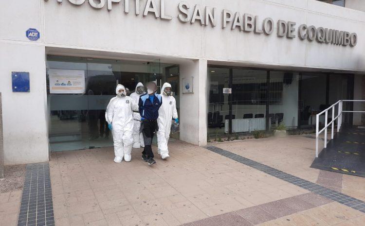 Paciente con Covid-19 que escapó desde el Hospital de La Serena fue formalizado este sábado