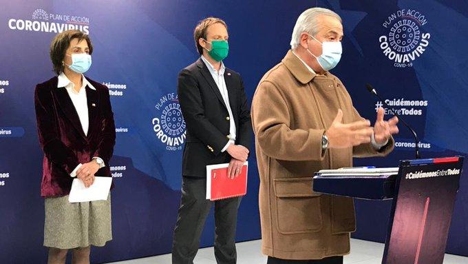 Chile registra una nueva alza en fallecimientos por Covid-19 y los contagios suman mas de 122 mil