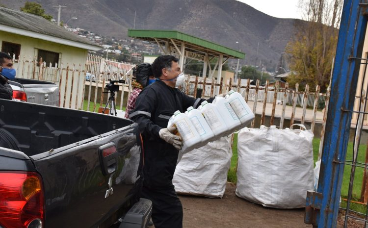 Operativo municipal de recolección de envases fotosanitarios se realiza en illapel