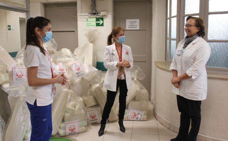 Teletón dona kits que podrían evitar que  pacientes lleguen a ventilación mecánica
