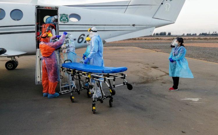 Hospital de La Serena recibe a los primeros pacientes trasladados desde la capital