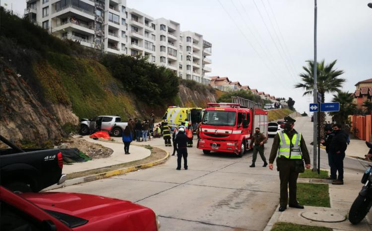 Persecución policial termina con un fallecido y un carabinero lesionado en La Serena
