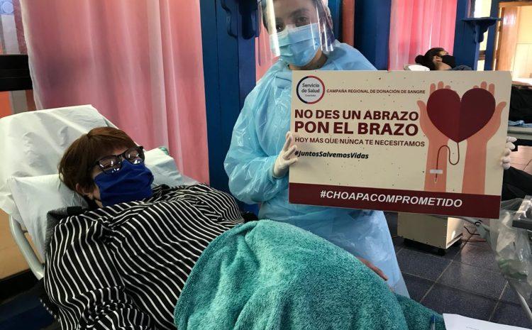 Colecta móvil de sangre captó más de 50 donantes voluntarios en el Hospital de Los Vilos