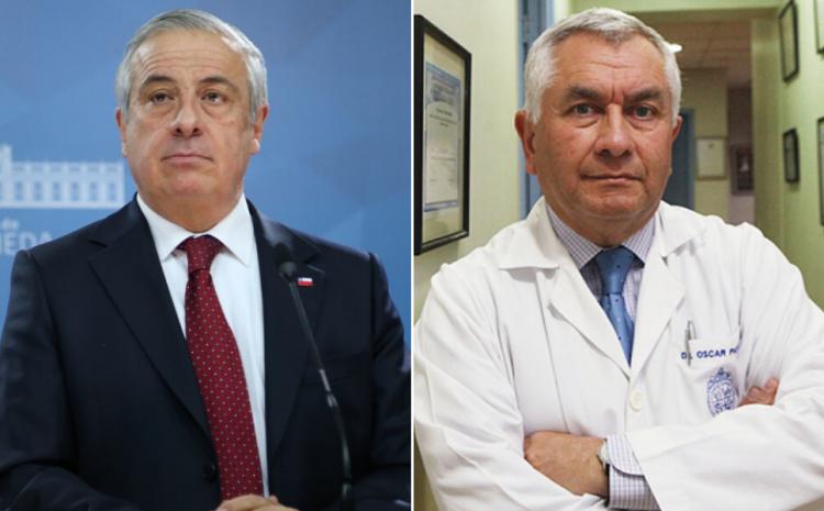 Enrique Paris asume como nuevo Ministro de Salud tras la salida de Jaime Mañalich en plena pandemia