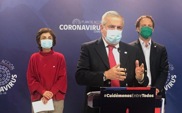 Chile suma 1.275 fallecidos y 113.628 contagiados por coronavirus