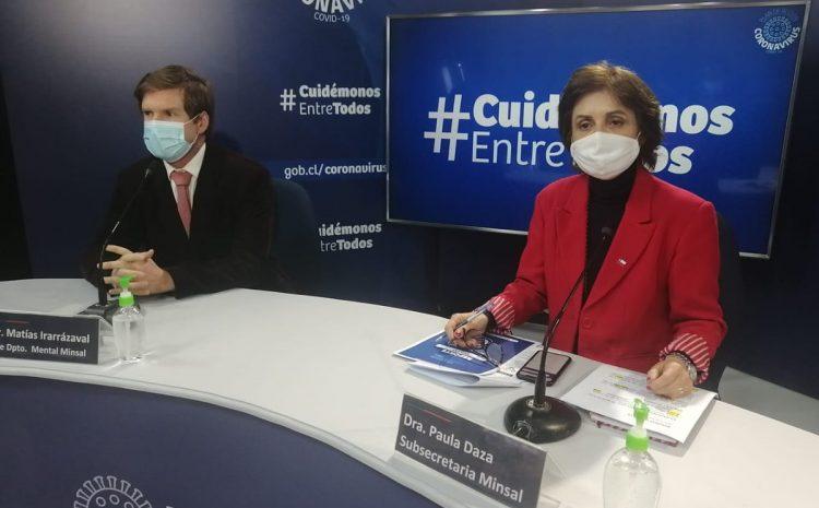 Minsal reportó 5.355 casos nuevos de Covid-19 en las últimas 24 horas