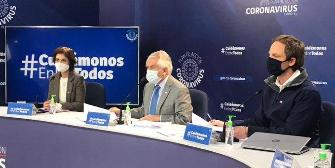 Con 246.963 casos totales, Chile superó contagios de España