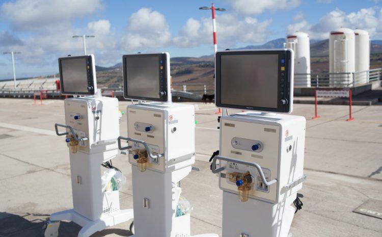 Red asistencial regional se refuerza con 16 ventiladores mecánicos