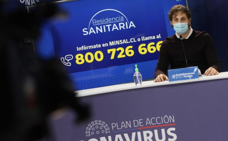 Jefe de Epidemiología del Minsal entregó cifra consolidada de fallecidos en informe epidemiológico del Covid-19