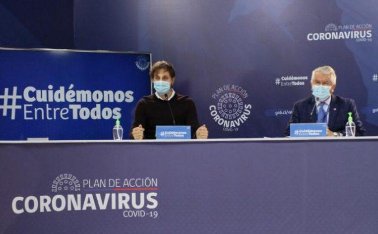 Minsal informó 4.216 nuevos contagios de coronavirus en Chile, llegando a 271.982 casos totales