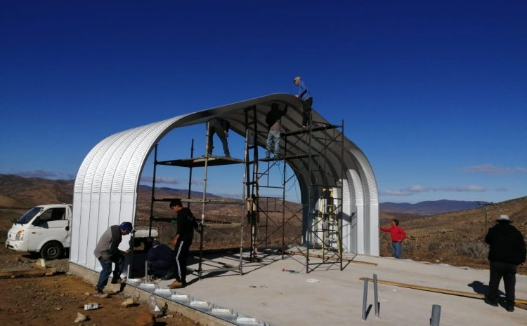 En Canela crianceros construyen moderna planta para procesar productos caprinos