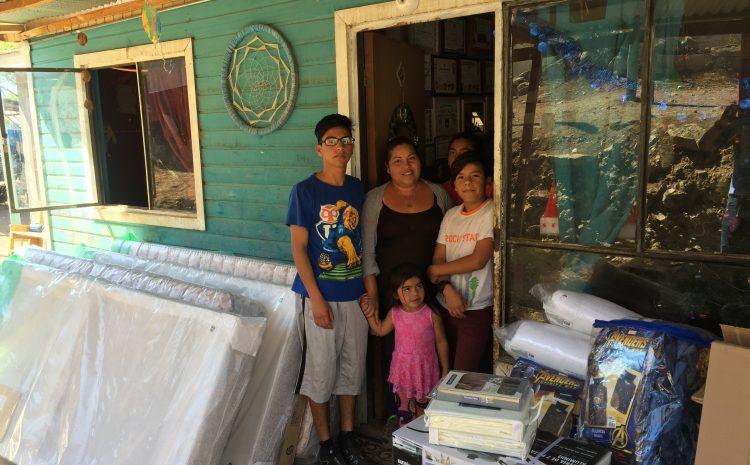 Familias de la región mejoraron sus viviendas y recibieron equipamiento gracias al programa de Habitabilidad