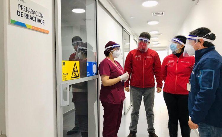 Laboratorio biomolecular Illapel está finalizando su marcha blanca y capacitación de personal