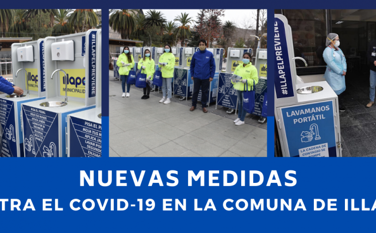 """Brigada Preventiva Covid-19"" Jóvenes estudiantes recorren Illapel ayudando a prevenir contagios por coronavirus"