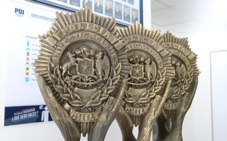Bicrim de Illapel por tercer año consecutivo obtiene el premio a la Excelencia a la investigación Criminal