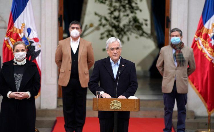 Presidente Piñera promulga ley que establece Nuevo Ingreso Familiar de Emergencia