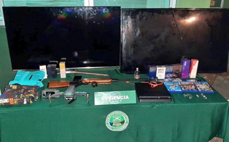 Carabineros desbarató banda especializada en robos en las compañías