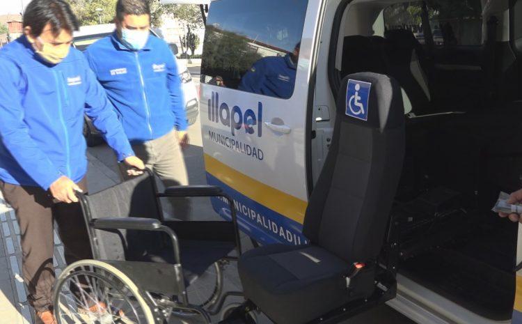 Departamento de Salud de Illapel adquirió nuevo vehículo inclusivo