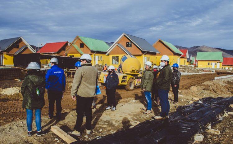 """Alcalde Denis Cortés junto a comité de vivienda realizan visita al proyecto habitacional """"Construyendo Juntos"""""""
