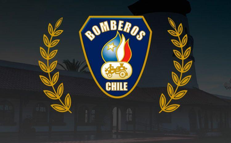 Municipalidad de Illapel saluda a Bomberos de Chile en su aniversario