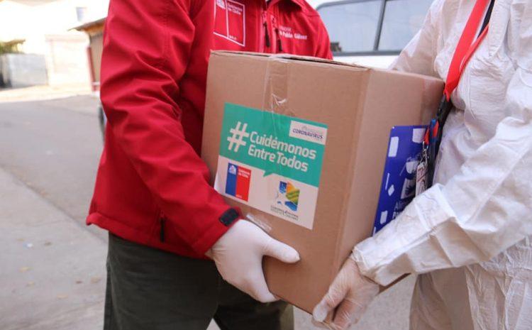 Comenzó la entrega de cajas de alimentos en la Provincia de Choapa