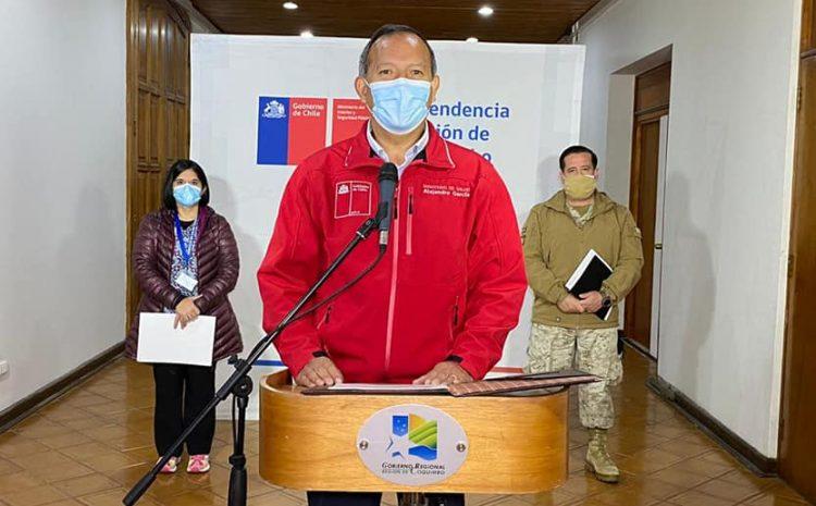 Reportan 2 fallecidos y 77 nuevos casos de Covid-19 en la región de Coquimbo