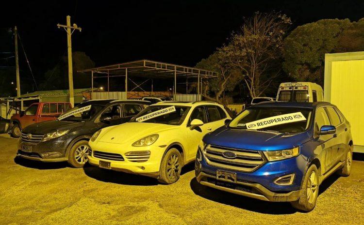 Carabineros logra recuperar 4 vehículos de alta gama en Los Vilos