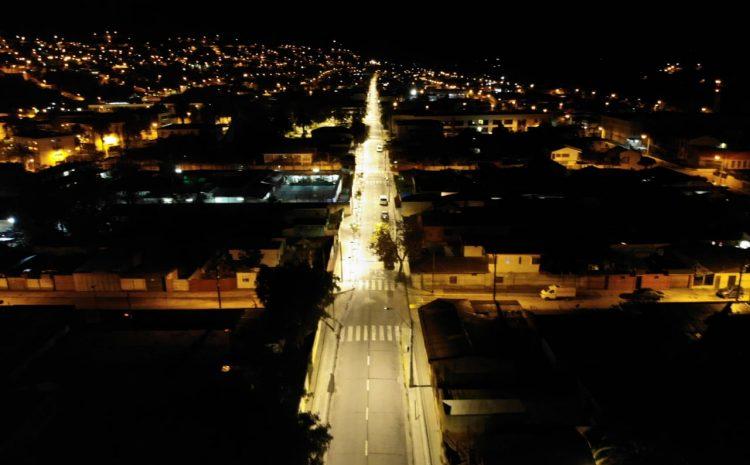 Municipalidad de Illapel ejecuta proyecto de recambio de luminarias publicas a iluminación LED