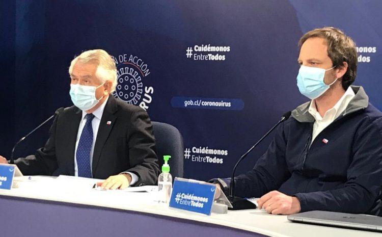 Minsal informó que hubo 2.498 nuevos casos y ya son 284.541 los contagiados con coronavirus