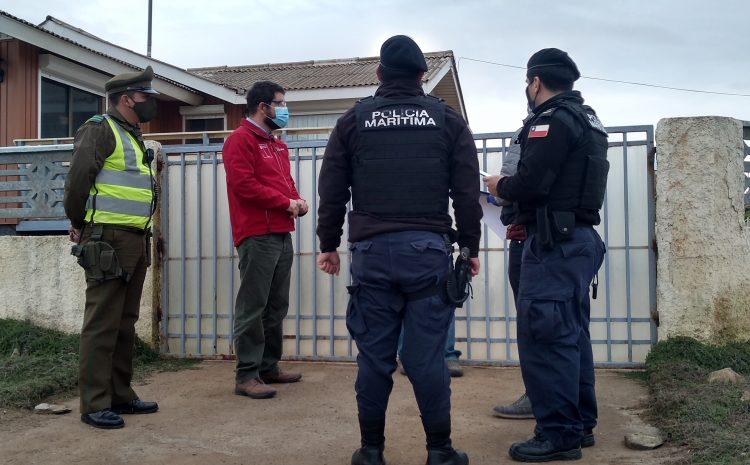 En Pichidangui se realizó una nueva fiscalización al uso de segunda vivienda