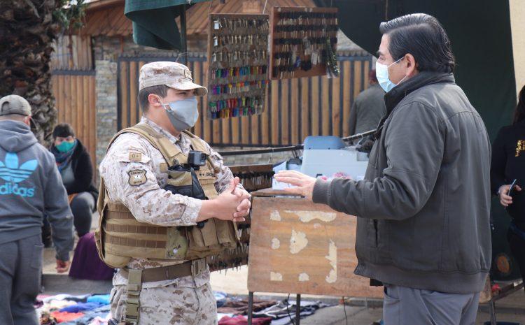 Ejército de Chile e inspectores municipales continúan con las fiscalizaciones en Los Vilos