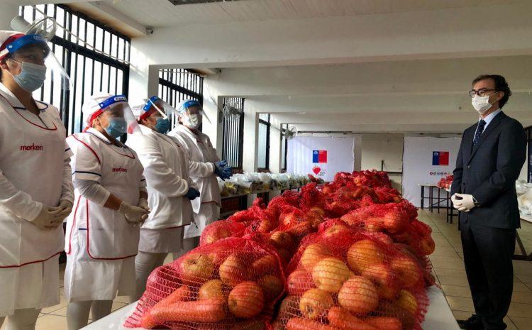 Junaeb ha entregado más de ocho millones de canastas de alimentos a estudiantes durante la suspensión de clases presenciales