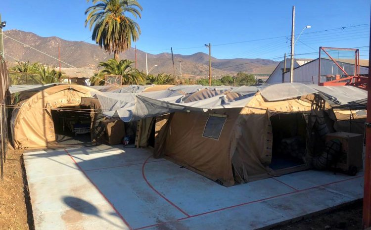Hospital de Illapel amplía oferta de camas con habilitación de carpa del Ejército