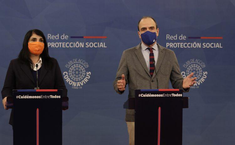 Ministros Monckeberg y Rubilar entregan detalles del Plan de Protección de Clase Media