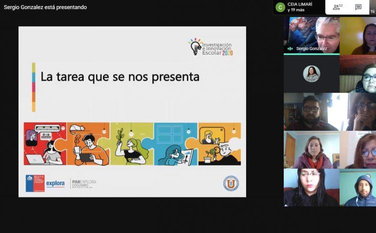 Lanzan en la Región programa científico escolar con foco en investigaciones virtuales y asociadas a la pandemia