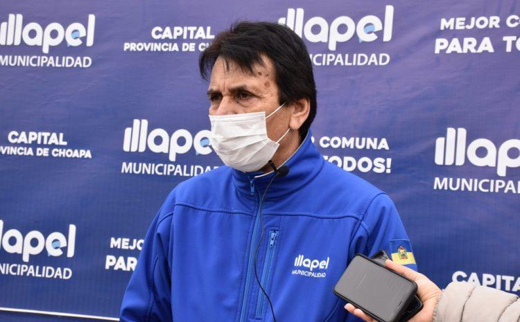 Alcalde de Illapel inició cuarentena preventiva ante contagio  por Covid-19 de funcionario municipal